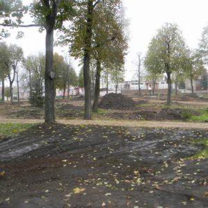 Renowacja zabytkowego parku miejskiego w Rajgrodzie