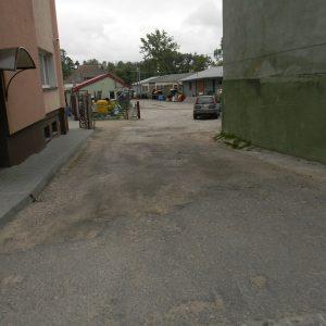 Budowa parkingu w Rajgrodzie (2013)