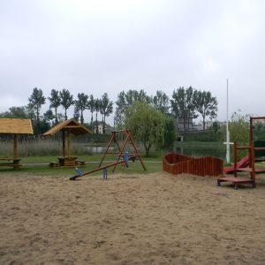 Zagospodarowanie plaży nad Jeziorem Rajgrodzkim w miejscowości Rajgród (2014)